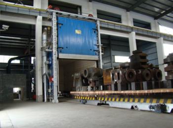 台车式燃油炉